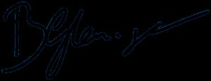 Benjamin Glemser Unterschrift