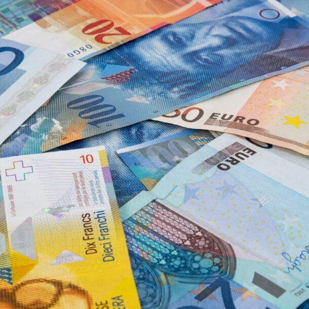 Gehalt Banknoten