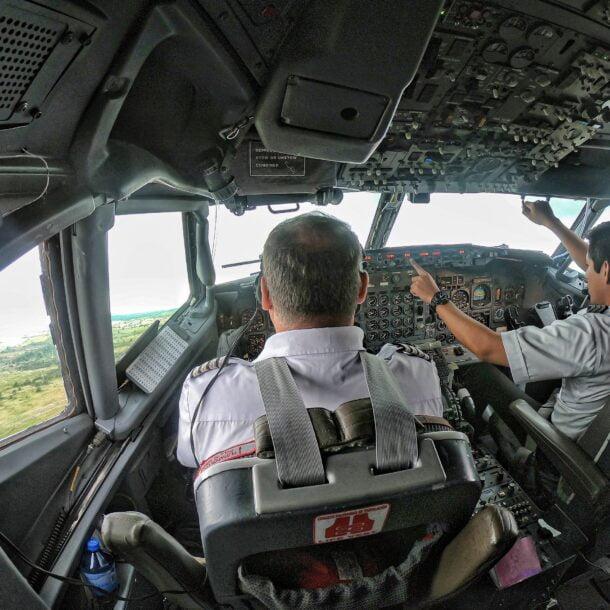 Zugänglichkeit im Cockpit